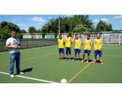 Открытие сезона футбола среди детских дворовых команд на Кубок городского головы прошел 1 июня на стадионе «Олимп» на площадке с искусственным покрытием.