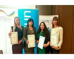 Команда спеціалістів з раннього втручання отримала сертифікати ЮНІСЕФ