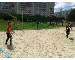 Обласная спартакиада по пляжному волейболу