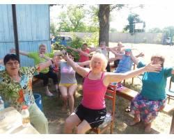 Організований відпочинок літніх людей на базі відпочинку Територіального центру соціального обслуговування (надання соціальних послуг) Чугуївської міської ради