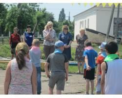 Свято спорту і здоров'я відбулося в таборі при Чугуївській ЗОШ № 7