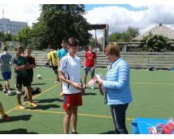 11 июня состоялся V тур соревнований по мини – футболу среди 6 детских дворовых команд на Кубок городского головы.