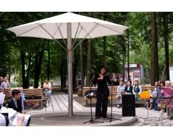 10 червня у сквері «Мелодія» відбувся концерт учнів та викладачів дитячої музичної школи «Подорож у світ краси природи, поезії та музики». Глядачі мали змогу поринути у чарівний світ поетичного та музичного мистецтва.