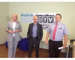 Чугуїв відвідали директор проекту «Психосоціальна підтримка та менеджмент конфліктів» Німецької федеральної компанії GIZ Олександр Отто