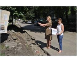 В м. Чугуєві продовжуються роботи по поточному та капітальному ремонту доріг підрядними організаціями