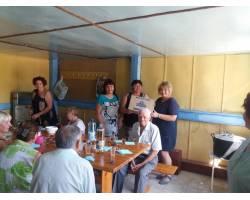 2 серпня в Територіальному центрі соціального обслуговування (надання соціальних послуг) Чугуївської міської ради відбулось традиційне виїзне засідання підопічних закладу на базу відпочинку, присвячене Дню міста.
