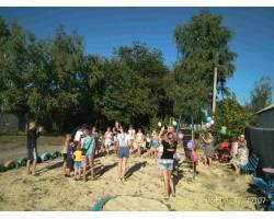 6 серпня в с. Клугіно – Башкирівка за підтримки міського голови Г.М. Мінаєвої  відбулось відкриття дитячого майданчику.