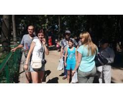 До Дня міста Чугуївським міським центром соціальних служб для сім'ї, дітей та молоді організовано поїздку  до екопарку  ім.Фельдмана для  молоді з обмеженими можливостями.