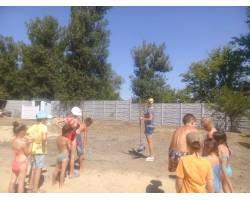 Чугуївським  міським центром соціальних служб для сім'ї, дітей та молоді та Службою у справах дітей до Дня міста організовано свято на базі відпочинку «Будівельник».