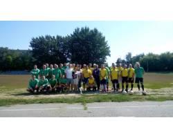 В День міста 12 серпня на міському стадіоні «Олімп» пройшла товариська зустріч по футболу між командами Чугуїва та Новопокровки.