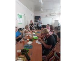 18 серпня 2017 року в Територіальному центрі соціального обслуговування (надання соціальних послуг) Чугуївської міської ради пройшов семінар на тему «Протидія торгівлі людьми».