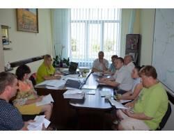 У приміщенні Чугуївської міської ради відбулися чергові засідання постійних депутатських комісій