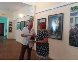 У виставковому залі Культурного центру «Імідж» 22-го серпня відбулася церемонія закриття VIII Чугуївського міського пленеру імені Петра Мальцева.