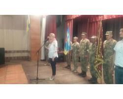 Галина Мінаєва відвідала бійців 92-ї бригади під Кураховим