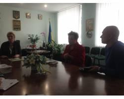 Юлія Самойлова - голова ОСББ « Альма-центр», голова Асоціації ОСББ «Фонд сприяння» м.Харкова завітала до міської ради