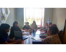 Засідання супервізійної групи для практичних психологів і соціальних педагогів