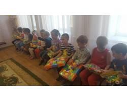 Вихованці садочків отримали іграшки від Дмитра Шенцева