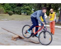 Змагання велотуристів до Дня туризму