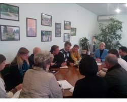 02.10.2017 міський голова провела нараду з керівниками ЖКГ та комунальних підприємств