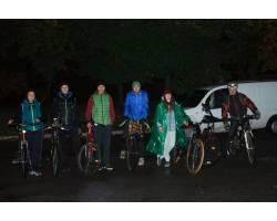 Велосипедисти міста відмітили День захисника України вечірнім велопробігом