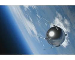 «60-річчя запуску першого штучного супутника Землі»
