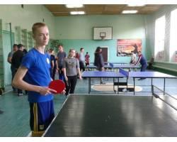 Команда ЗОШ № 7 - переможець змагань з настільного тенісу