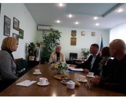 Сьогодні Чугуїв відвідав менеджер проекта GIZ Рене фон Прондцински.