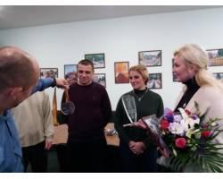 До міського голови завітали активісти Чугуївської хокейної команди «Скіф Чугуїв»