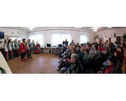В Територіальному центрі соціального обслуговування (надання соціальних послуг) Чугуївської міської ради 1 листопада відбувся концерт для працівників.
