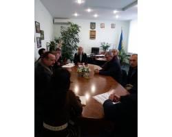 Галина Мінаєва провела нараду з підприємцями міста щодо відновлення помешкань постраждалих під час пожару 4 жовтня в будинку №30 по вул.Гагаріна