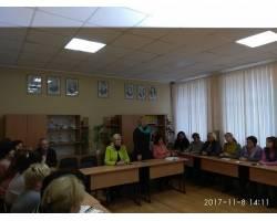 Міський голова відвідала майстер-клас з використання інтерактивних технологій