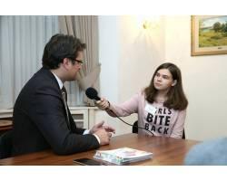 Учениця НВК №8  побувала в Раді Європи