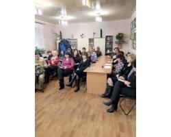На базі Територіального центру соціального обслуговування (надання соціальних послуг) Чугуївської міської ради у рамках проекту  «Вільний простір» 20.11.2017 року було проведено семінар для працівників освіти компанією  «Еулайф групп».