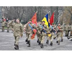 Сьогодні у Чугуєві відбулись урочисті заходи з нагоди Дня Збройних Сил України, що відзначається 6 грудня
