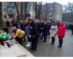 В Чугуєві вшанували учасників ліквідації наслідків аварії  на Чорнобильській АЕС.