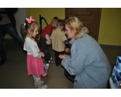 Галина Мінаєва відвідала вихованців Чугуївського центру соціально-психологічної реабілітації