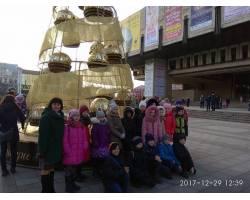 Юні обдарування відвідали обласний новорічний захід
