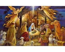 Дорогі чугуївці! Сердечно вітаю вас з Різдвом Христовим!
