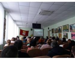Галина Мінаєва звітувала про діяльність у 2017 році