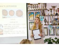 Вітаємо вихованку ЦТК з І місцем у конкурсі-захисті МАН