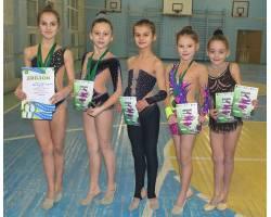 Наші гімнастки – в авангарді
