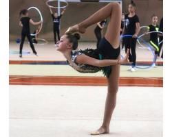 Учениця НВК №5 стала кращою в гімнастичних вправах