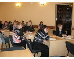 Рада завідувачів ДНЗ: дошкільна освіта  Чугуєва працює в тандемі з представниками області