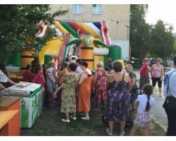 Открыта детская спортивная площадка по ул. Кожедуба