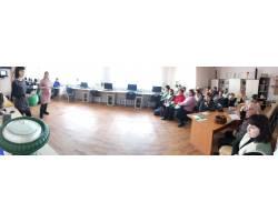 Зустріч з представниками  КЗОЗ «Чугуївського міського центру первинної медико-санітарної допомоги»