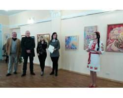 Чугуївська художниця Любов Пономарьова презентувала свої роботи