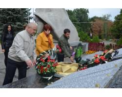 В Чугуєві вшанували пам'ять партизан