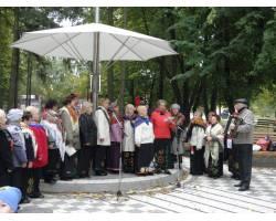 Виступ ветеранського хору «Надежда»