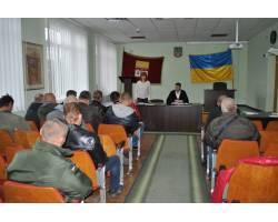 Очередная встреча с демобилизованными военнослужащими