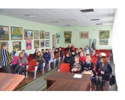 Засідання членів Чугуївської міської громадської організації багатодітних матерів «Берегиня»